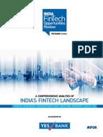 Indias Fintech Landscape