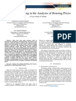 Using Web Mining in the Analysis of Housing Prices