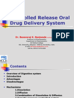 Controlled Release Oral Drug Delivery Systems