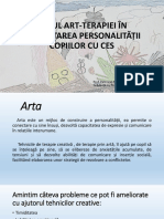 Prezentare ppt- Rolul art-terapiei