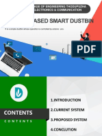 Smart Dustbin  Presentation
