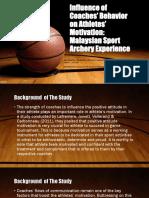 Influence of Coaches' Behavior on Athletes'-EDWARD JAN D. LIRIO