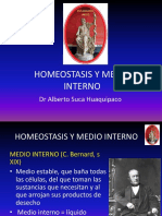 1. Homeostasis y Medio Interno