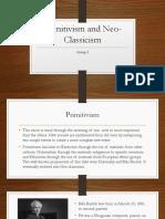 Primitivism and Neo Classicism