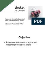 MDH 2012 JLPascual Acute Stroke - Handout Version