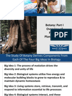 Botany Part I Plant Overview