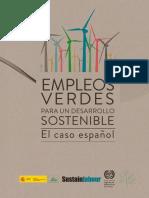 Empleos verdes para un desarrollo sostenible. El caso español. (Sustainlabour, 2012)