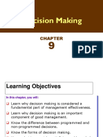 Ch 9 Decision Making