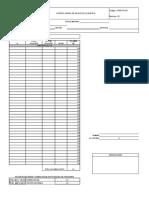 OPER-FO-027 Formato Control Diario Viajes REV 2