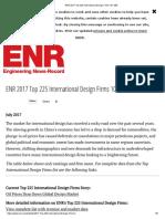 ENR 2017 Top 225 International Design Firms 101-200