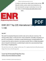 ENR 2017 Top 225 International Design Firms 1-100