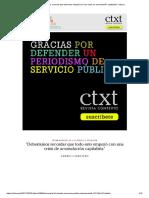"""""""Deberíamos Recordar Que Todo Esto Empezó Con Una Crisis de Acumulación Capitalista"""" _ Ctxt.es"""