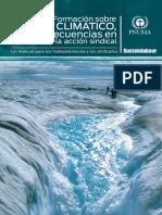 Manual de Formación sobre Cambio Climático, Consecuencias en el Empleo y Acción Sindical (Sustainlabour, 2011)