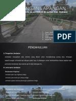 Kunjungan Lapangan Jembatan Dan Jalan Kelompok Vi b