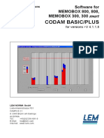 Codam Basicco Plus Manual