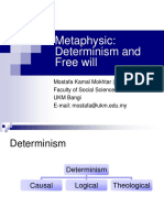 Metaphysics(DeterminismFreeWill)