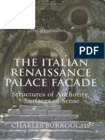 The Italian renaissance palace facade