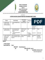 Action Plan SDRRMC