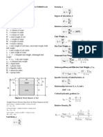 Civil Engineering Formulas 2
