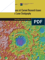 Recent Advances and Current Research Issues in Lunar Stratigraphy