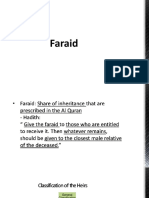 Faraid-law of succession