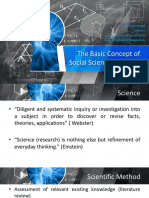 The Basic Concept of Social Science Research