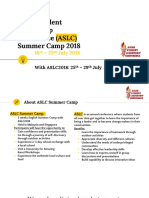 ASLC Summer Camp 2018a