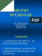 Abceso Pulmonar