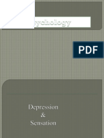 Depresion and Sensation