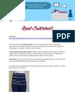 2017 Confeccion Pantalaon Basico