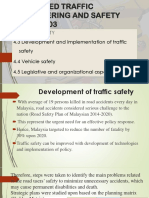 Advanced Traffic Engineering and Safety
