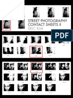 Street Photography Contact Sheets Volume II