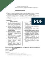 Aspectos Formales Direccion de I.F