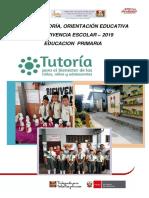 Plan Institucional de Primaria 2019
