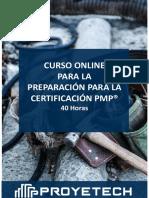 ProyeTeach - Preparacion Certificacion PMP