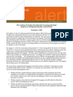 EPA Confirms Its Position That Hydraulic Fracturing With Diesel Requires an Underground Injection Permit