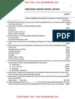Class 10th Maths Probability (5)(1)