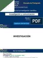 2. Investigacioón y Comunicación