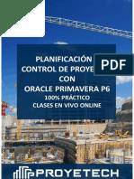 ProyeTeach - Planif & Ctrl Con P6