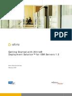Altiris Ibm Deployment Guide