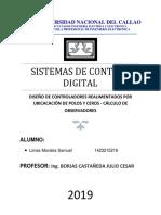 DISEÑO de controladores realimentados por ubicacion de polos y ceros y calculo de observadores.docx