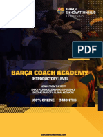 Barça Coach Academy Introductory Level