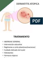 dermatitis atópica  tratamiento