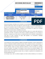 Plan de Área Tecnología e Informática 2019