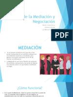 Teoría de La Mediación y Negociación
