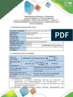 Guía de Actividades y Rúbrica de Evaluación - Tarea 3 - Biodegradabilidad de Contaminantes y Seguimiento de La Biorremediació