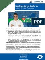 Artigo - 5 Características de Um Gestor de Manutenção de Sucesso