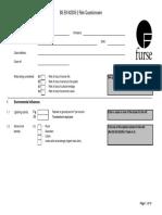 Furse StrikeRisk 62305-2-2012 Questionaire
