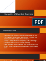 Energetics of Chemical Reactions