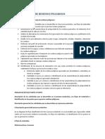 01. Plan de Manejo de Residuos Pleigrosos NOTAS